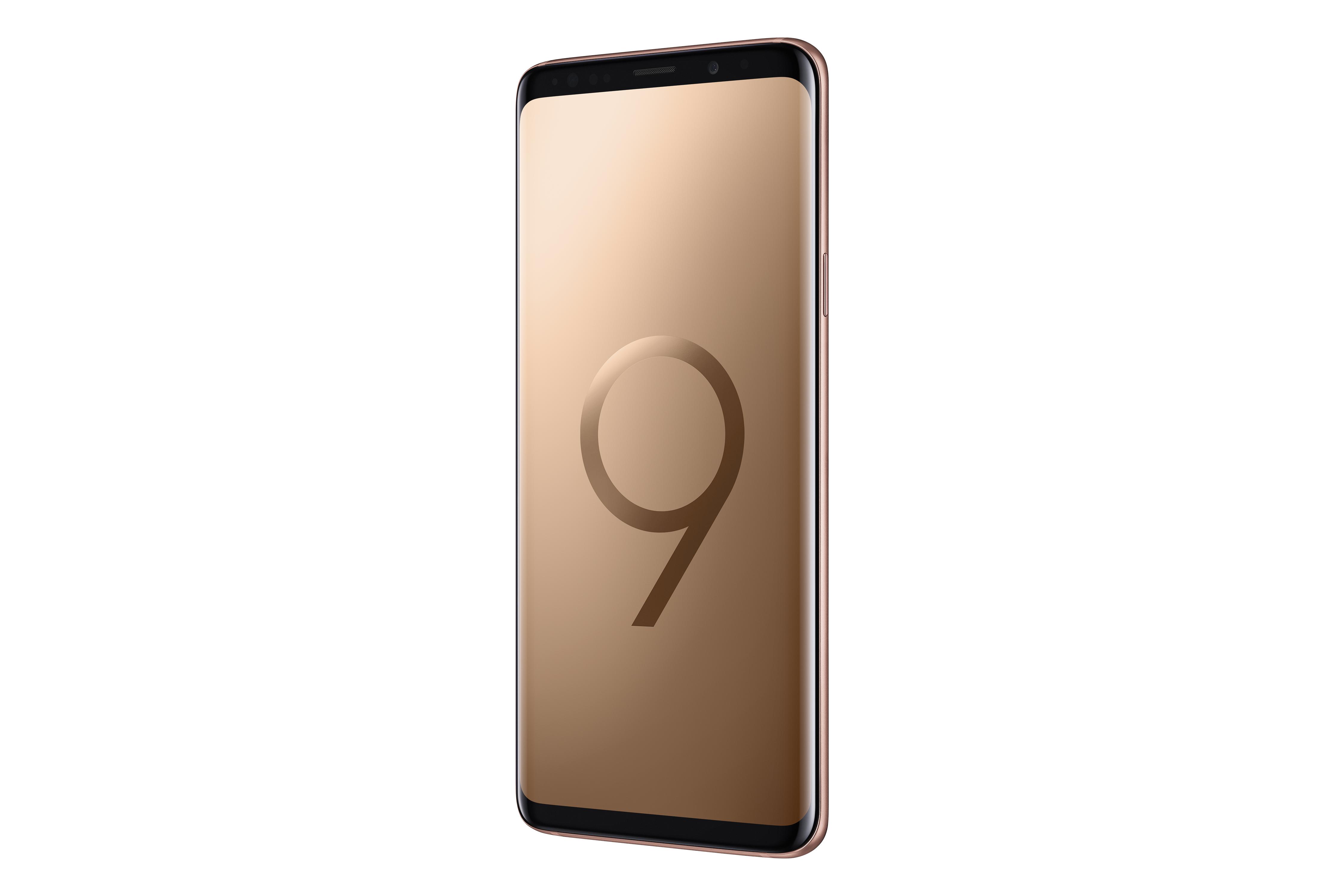 """""""Samsung"""" pristatė išskirtinės – ryto auksinės – spalvos """"Galaxy S9"""" ir """"S9+"""" modelį"""