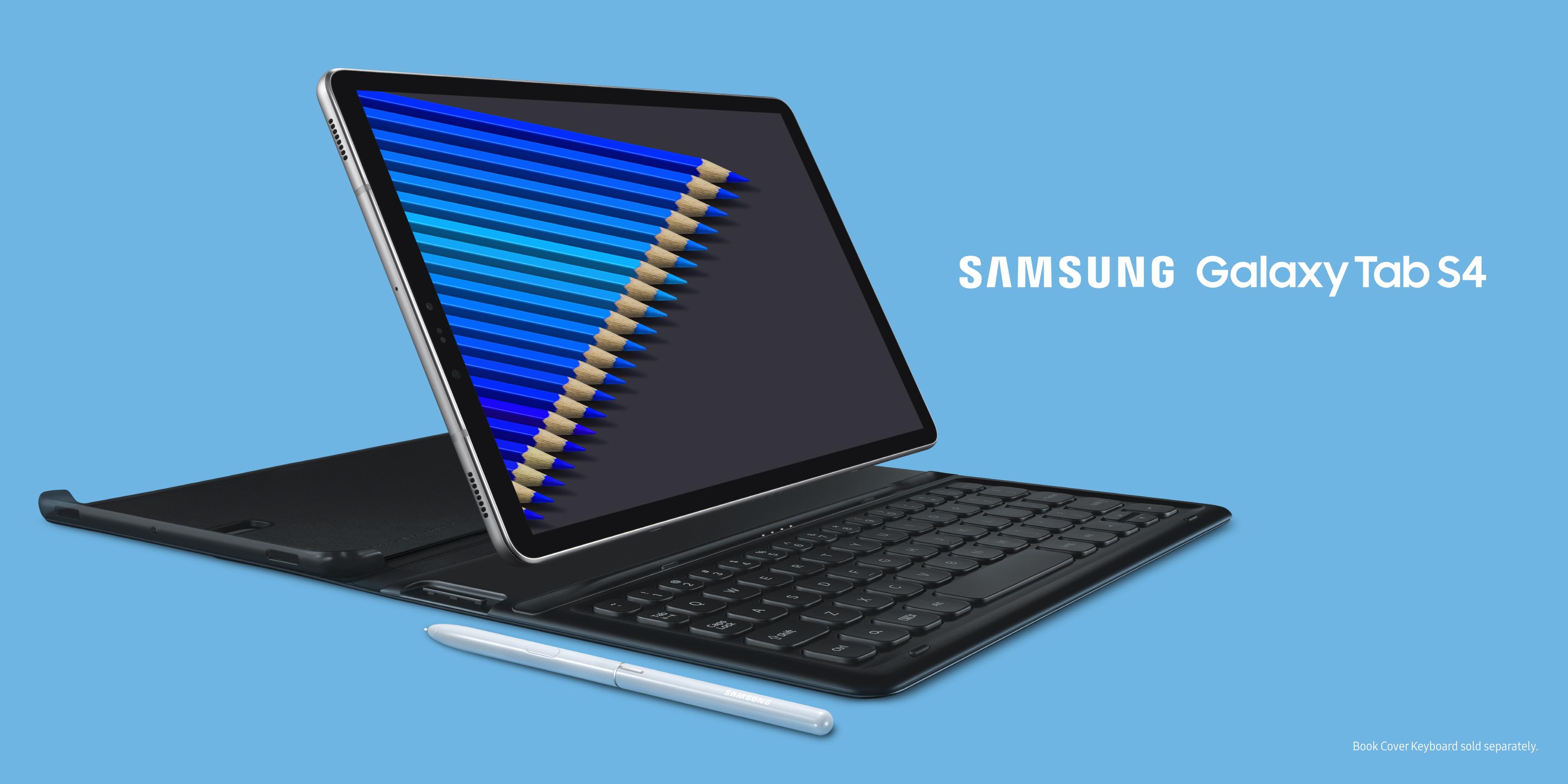 """Naujoji """"Samsung Galaxy Tab S4"""" planšetė sukurta nuveikti daugiau, kad ir kur bebūtumėte"""