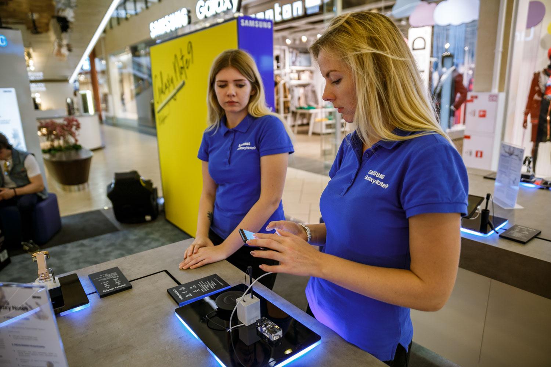 """""""Galaxy Studija"""": ką galima nuveikti su naujausiu """"Samsung"""" flagmanu?"""