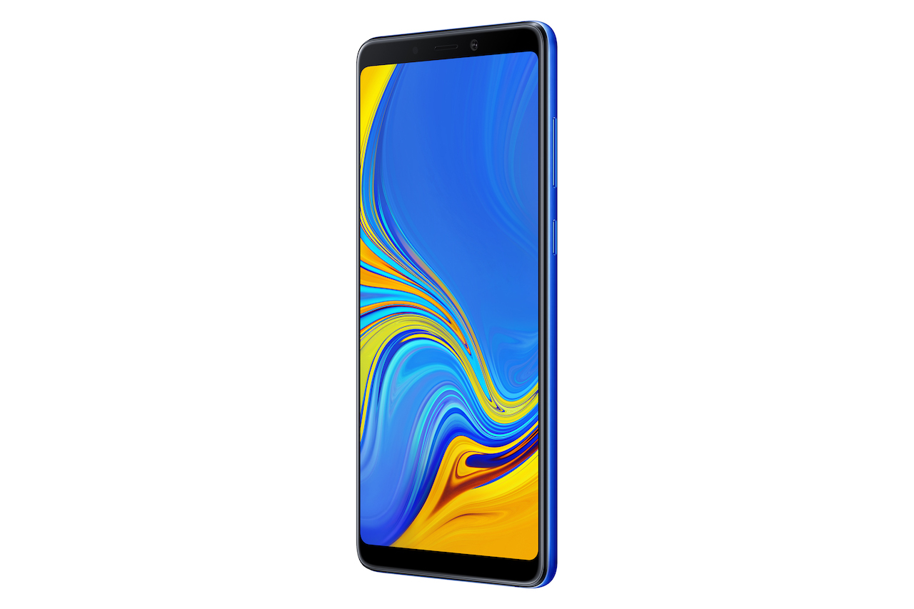 """Samsung"" pristatė pirmąjį ""Galaxy"" išmanųjį su keturguba galine kamera"