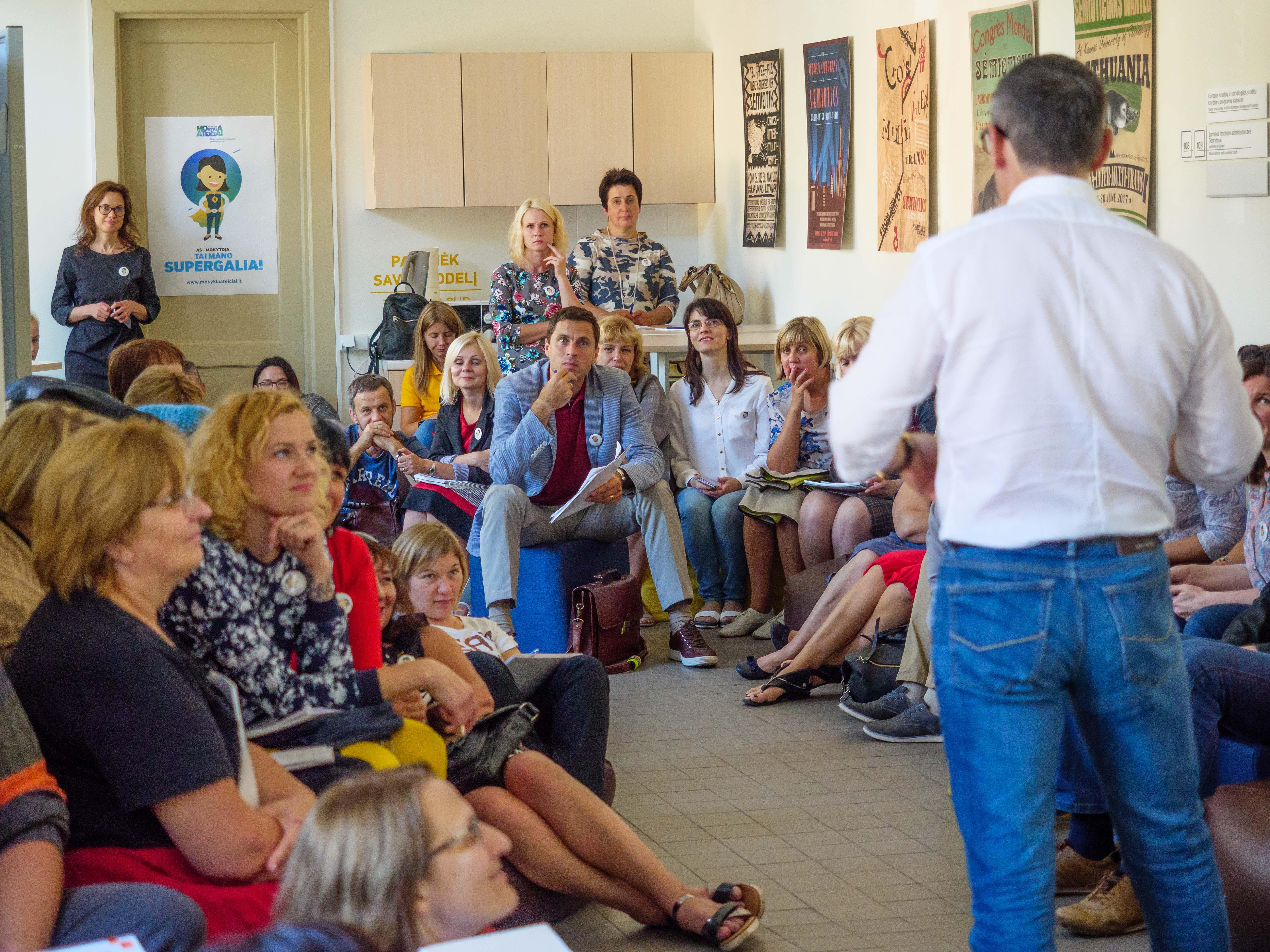 Mokytojai siekia skaitmeninių pokyčių - juos pradės 12 mokyklų