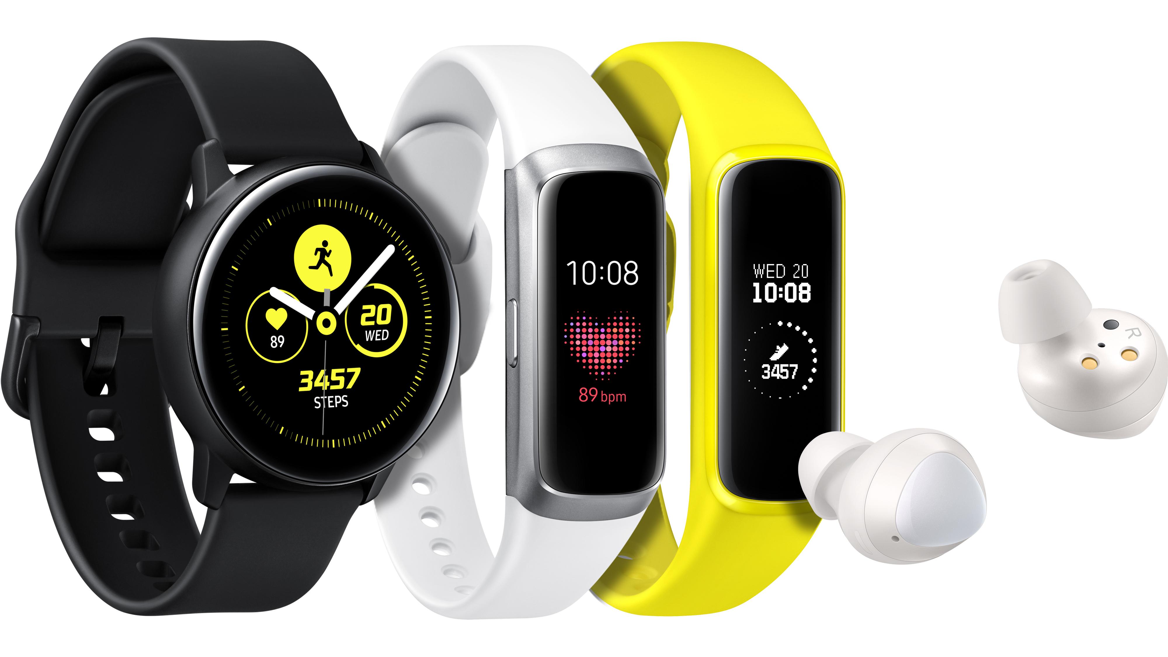 """""""Samsung"""" pristatė naują išmanių dėvimųjų prietaisų liniją aktyvaus gyvenimo būdo šalininkams"""