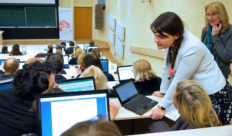 VGTU studentai išmanaus verslo valdymo mokysis su SAP technologijomis