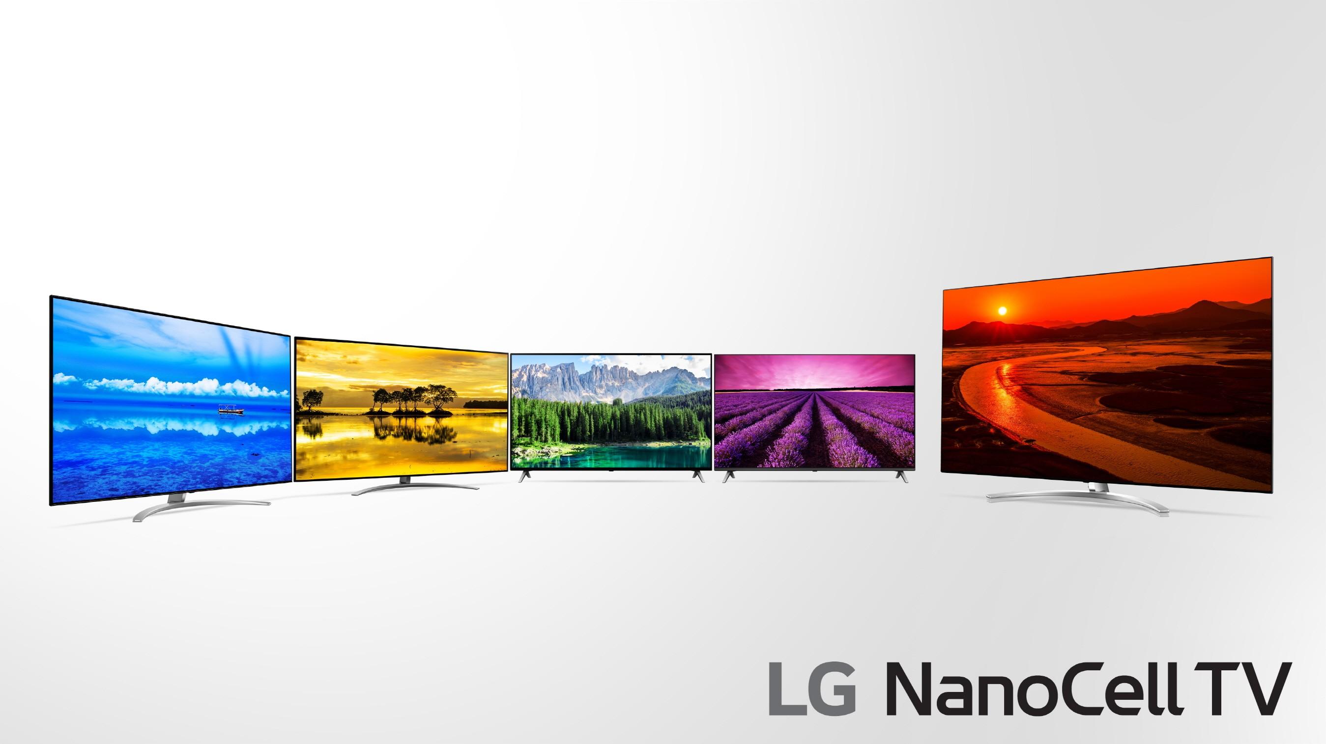 """Geriausias LG siūlomas LED televizorius """"NanoCell""""  – jau ir Lietuvoje"""