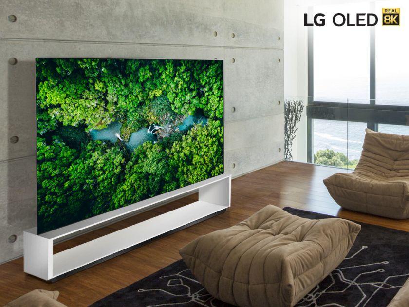 """""""CES 2020"""" metu """"LG"""" Pristatys televizorių seriją """"REAL 8K"""" su naujos kartos DI procesoriumi"""