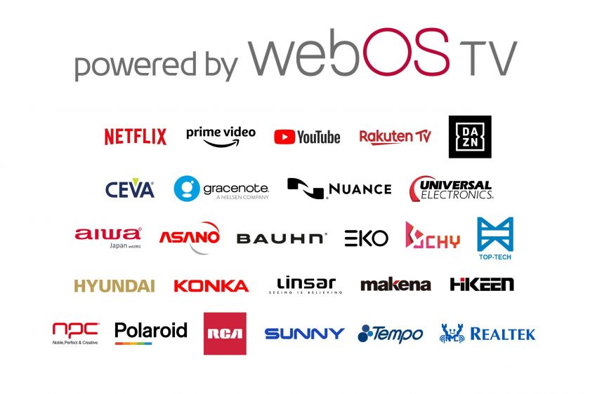 """Prieigą prie išmaniųjų televizorių platformos """"Webos"""" LG suteikia ir kitiems televizorių gamintojams"""