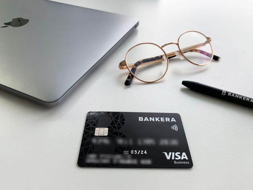 """""""Bankera"""" išleido """"Visa"""" mokėjimo kortelę verslui – paslaugų kainomis žada konkuruoti su bankais"""